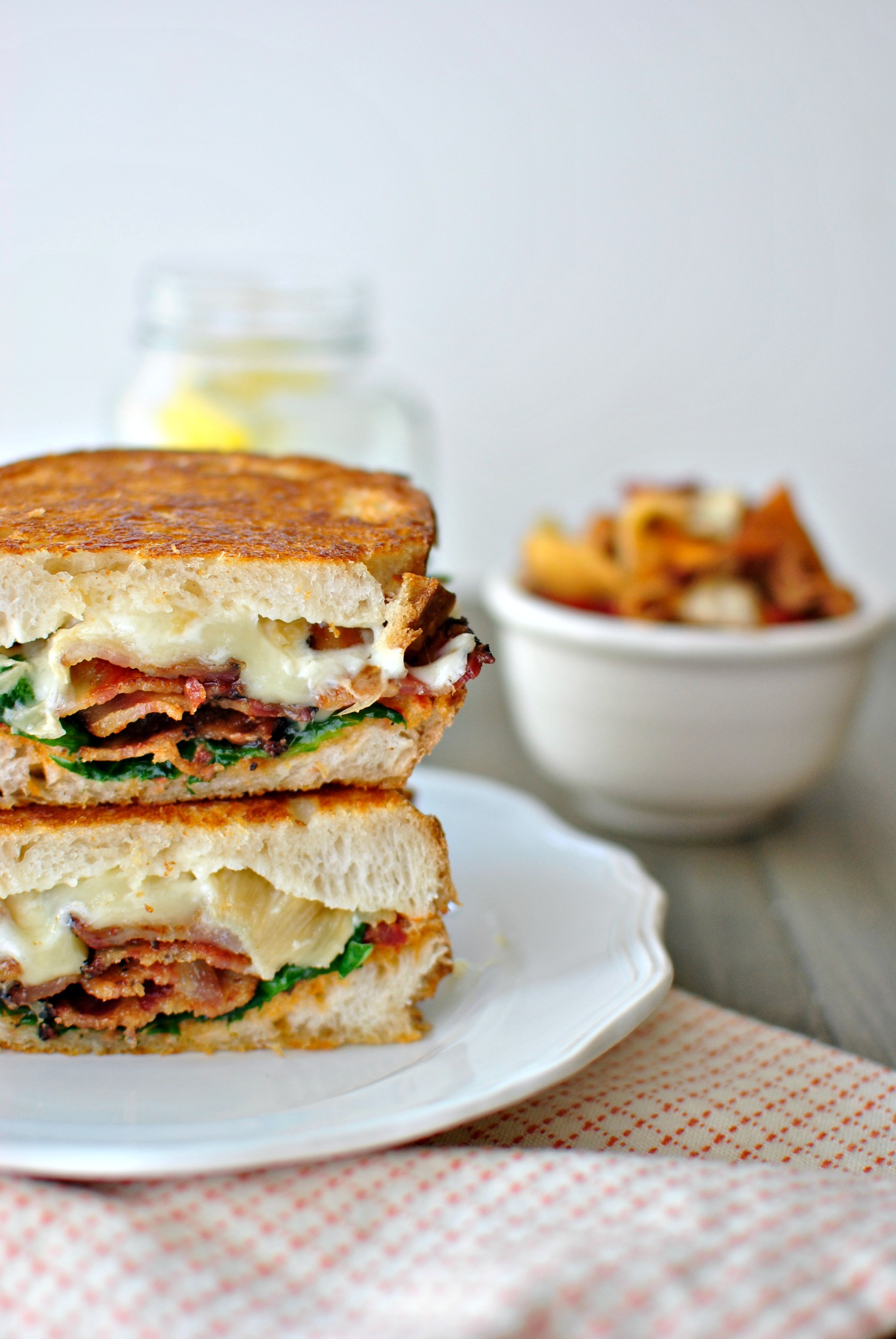 Simply Scratch » Fancy BLT Grilled Cheese Sandwiches