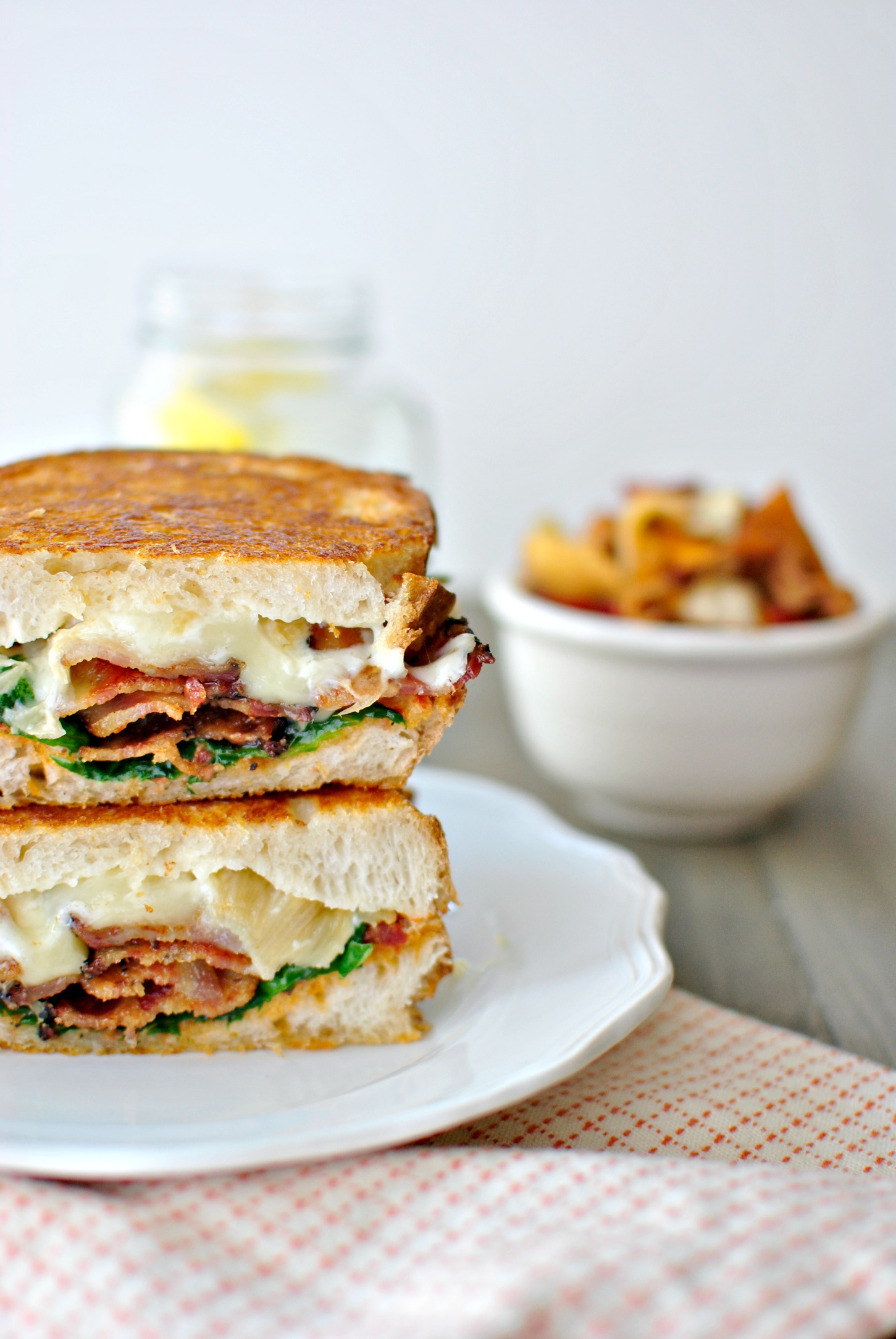 Simply Scratch Fancy BLT Grilled Cheese Sandwiches - Simply Scratch