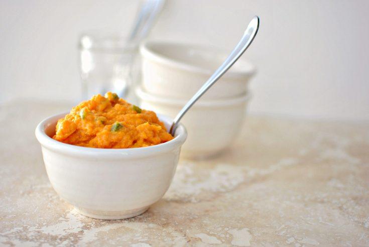 Sweet Potato Jalapeño Mash