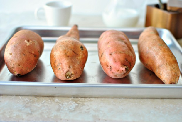 Sweet Potato + Jalapeno Mash l www.SimplyScratch.com sweet potatoes