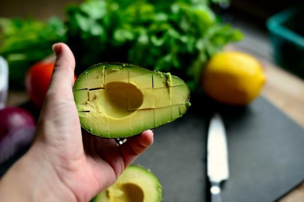 Avocado + Feta Guacamole www.SimplyScratch.com guitar