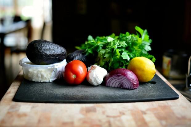 Avocado + Feta Guacamole www.SimplyScratch.com stuff