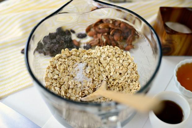 Fruit and Nut Granola l www.SimplyScratch.com kosher salt