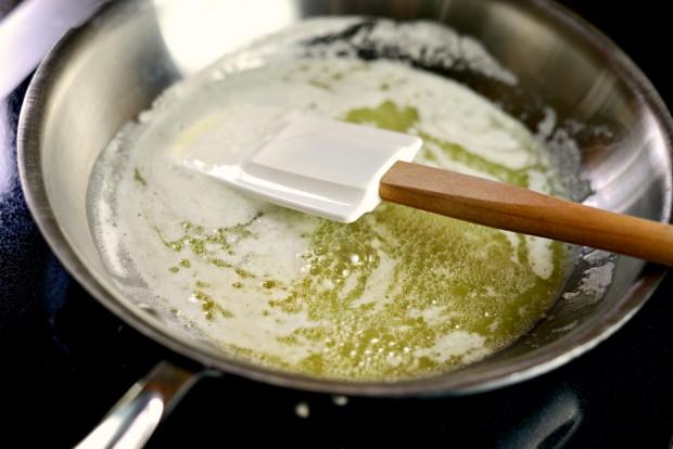 Artichoke Gratin l www.SimplyScratch.com butter2