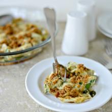 Artichoke Gratin l www.SimplyScratch.com #recipe