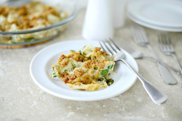 Artichoke Gratin via www.SimplyScratch.com #recipe