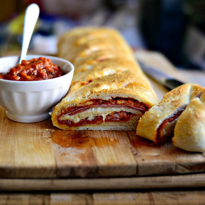 Homemade Stromboli