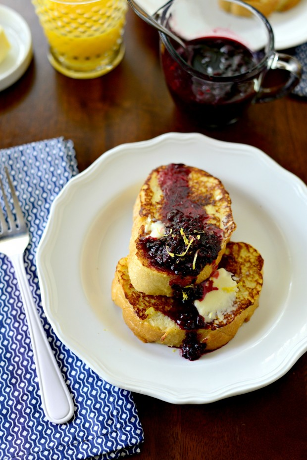 Buttermilk French Toast with a Quick Blackberry Maple Compote www.SimplyScratch.com (5)