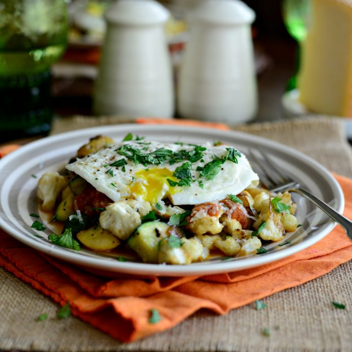 Summer Vegetable Breakfast Skillet