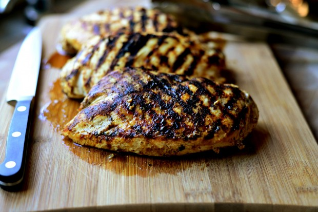 Lemon Dijon Grilled Chicken l www.SimplyScratch.com #grillingrecipe