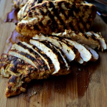 Lemon Dijon Grilled Chicken www.SimplyScratch.com