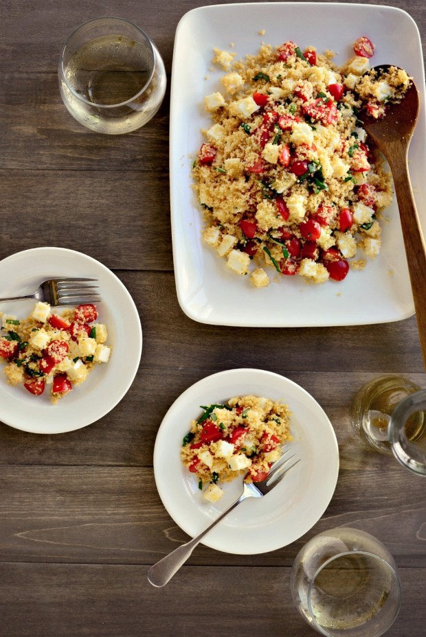 Simply Scratch Tomato, Basil + Mozzarella Couscous ...