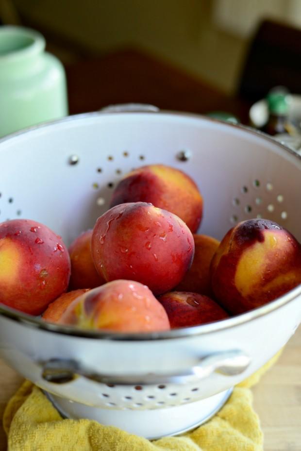 Brown Butter Peach Cobbler l www.SimplyScratch (1)