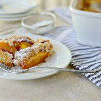 Brown Butter Peach Cobbler