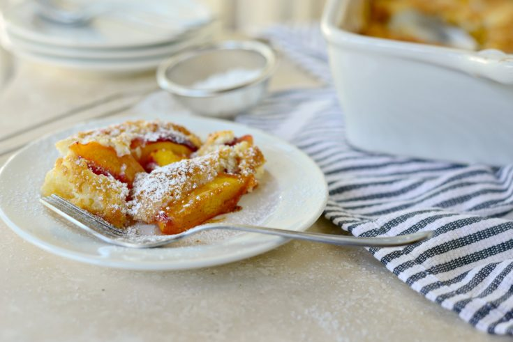 Brown Butter Peach Cobbler