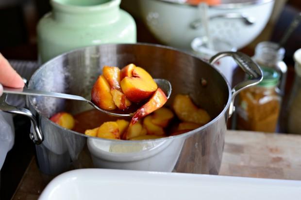Brown Butter Peach Cobbler l www.SimplyScratch (7)