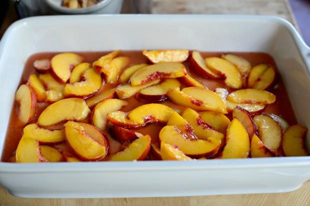 Brown Butter Peach Cobbler l www.SimplyScratch (9)