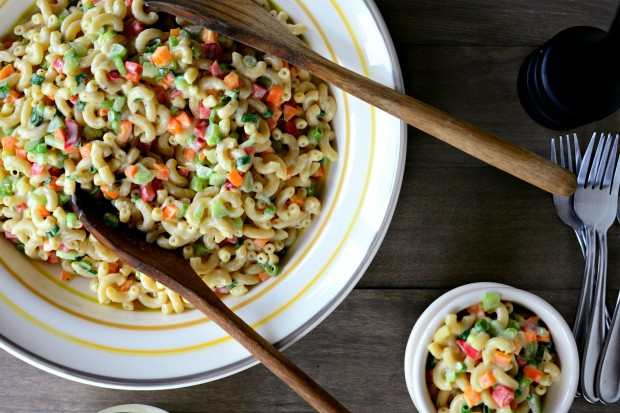 Classic Macaroni Salad + Homemade Dressing l SimplyScratch 23