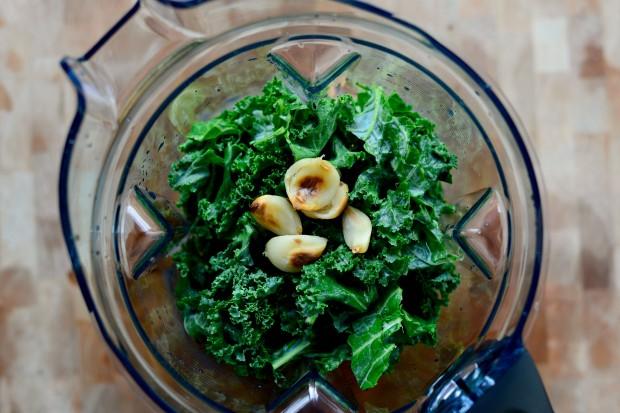 Roasted Garlic Kale Hummus l www.SimplyScratch (23)