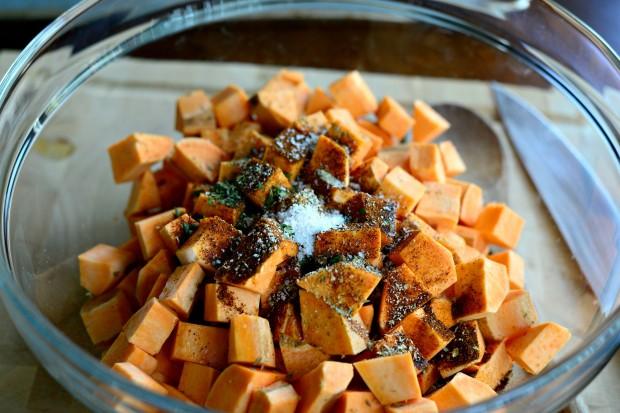 Sweet Potato Home Fries l www.SimplyScratch (2)