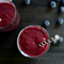 Triple Berry Kefir Smoothie l simplyscratch.com (13)