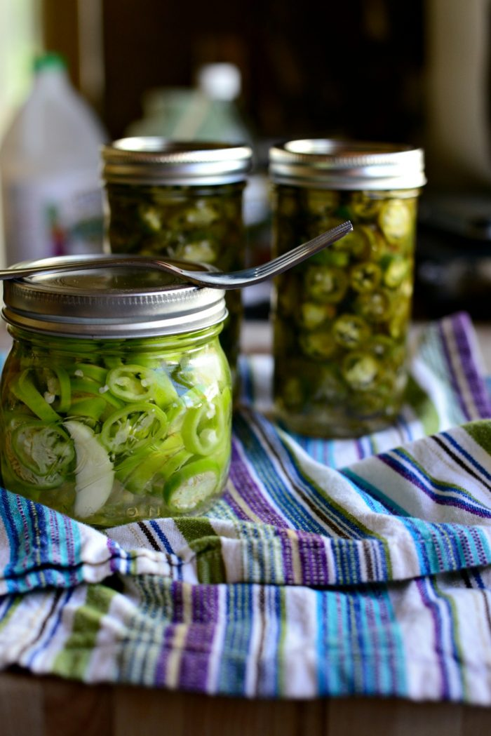 Homemade Pickled Banana Peppers - Simply Scratch