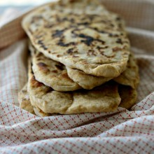 Homemade Naan Bread l SimplyScratch.com  (32)