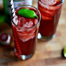 Pomegranate Gin & Tonic l SimplyScratch.com  (10)