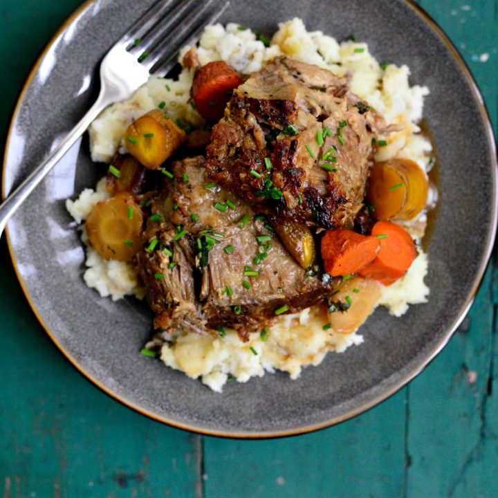 Cider Braised Pork Shoulder