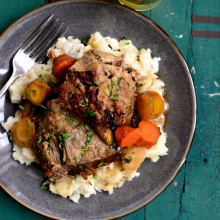 Cider Braised Pork Shoulder l SimplyScratch.com  (30)