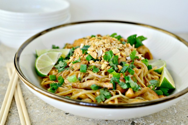 Easy Chicken Pad Thai l SimplyScratch.com (032)