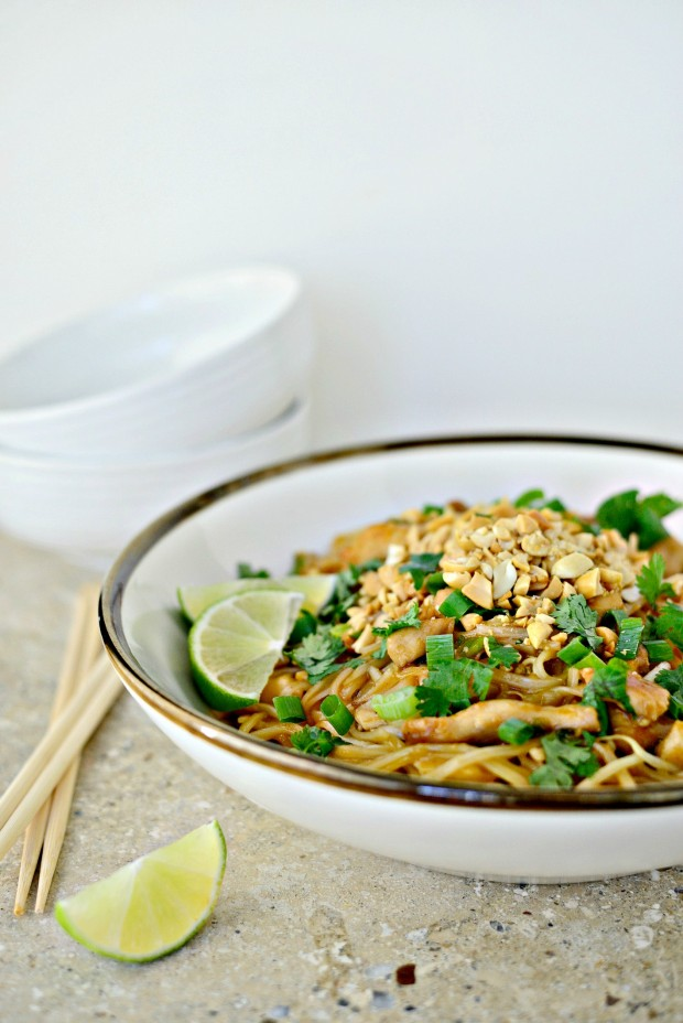 Easy Chicken Pad Thai l SimplyScratch.com (033)