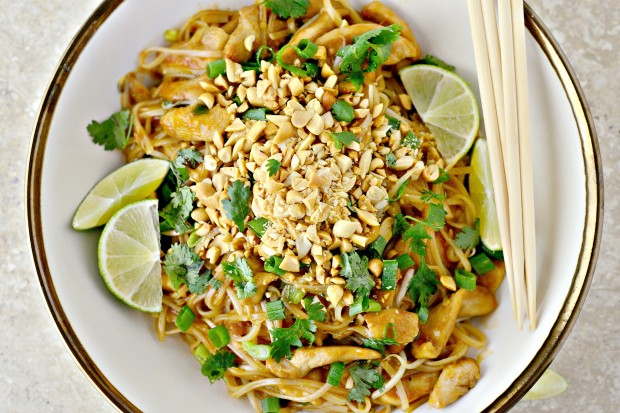 Easy Chicken Pad Thai l SimplyScratch.com (034)