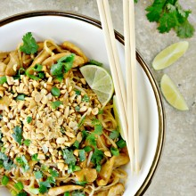 Easy Chicken Pad Thai l SimplyScratch.com  (036)