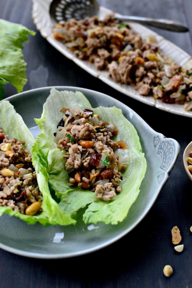 Moroccan Spiced Lettuce Wraps l SimplyScratch.com