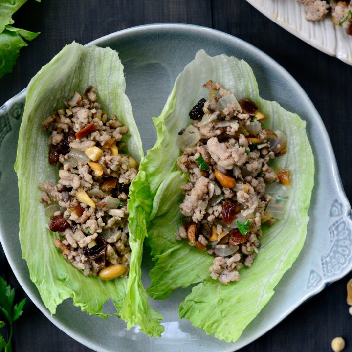 Moroccan Spiced Lettuce Wraps