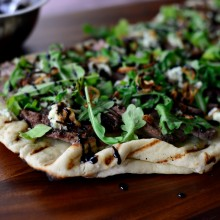 Steak & Blue Cheese Pizza l SimplyScratch.com  (12)