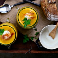 Curried Apple Butternut Squash Soup l SimplyScratch.com  (24)