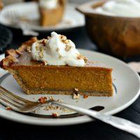 Brown Sugar Maple Pumpkin Pie