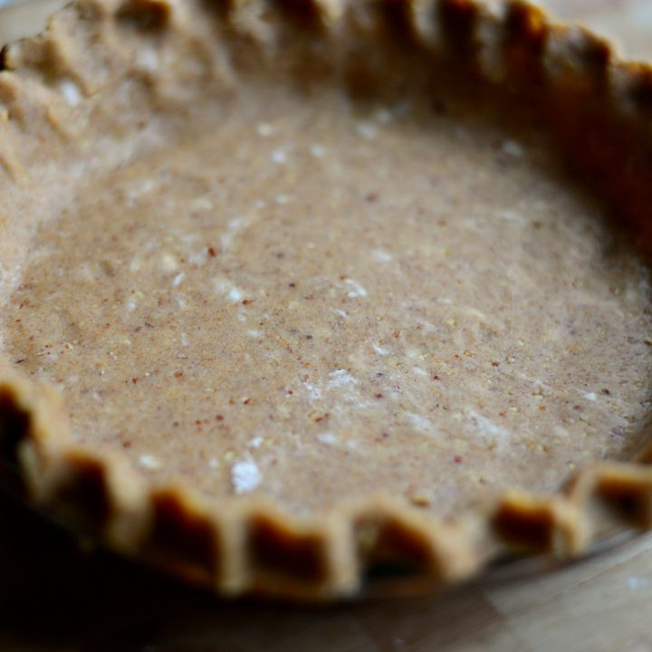 Pecan Whole Wheat Pie Crust