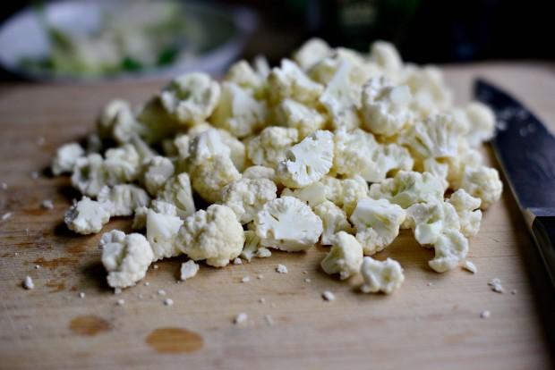 Skillet Parmesan Garlic Cauliflower l SimplyScratch.com (2)