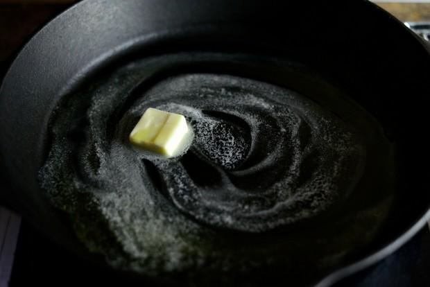 Skillet Parmesan Garlic Cauliflower l SimplyScratch.com (3)