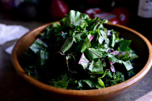 Winter Kale + Beet Greens Salad l SimplyScratch.com (10)