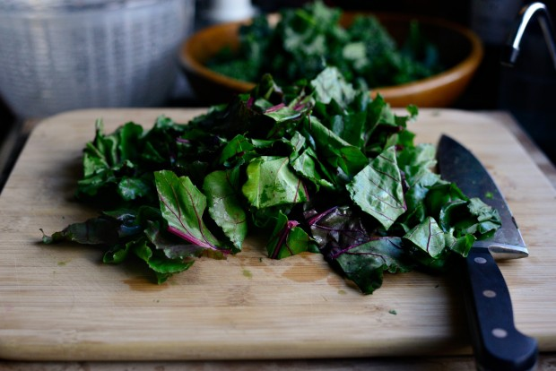 Winter Kale + Beet Greens Salad l SimplyScratch.com (9)