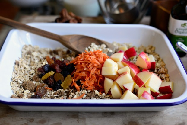 Apple, Carrot + Raisin Baked Oatmeal l SimplyScratch.com (13)