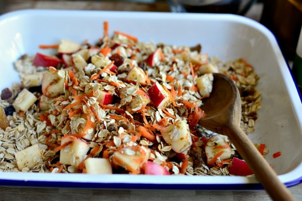 Apple, Carrot + Raisin Baked Oatmeal l SimplyScratch.com (14)