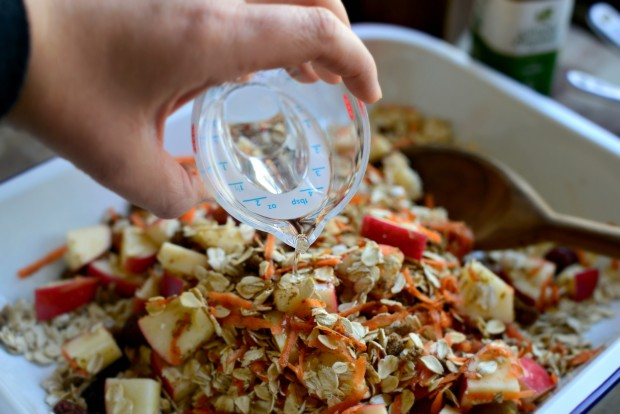 Apple, Carrot + Raisin Baked Oatmeal l SimplyScratch.com (15)
