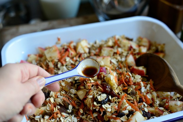 Apple, Carrot + Raisin Baked Oatmeal l SimplyScratch.com (16)