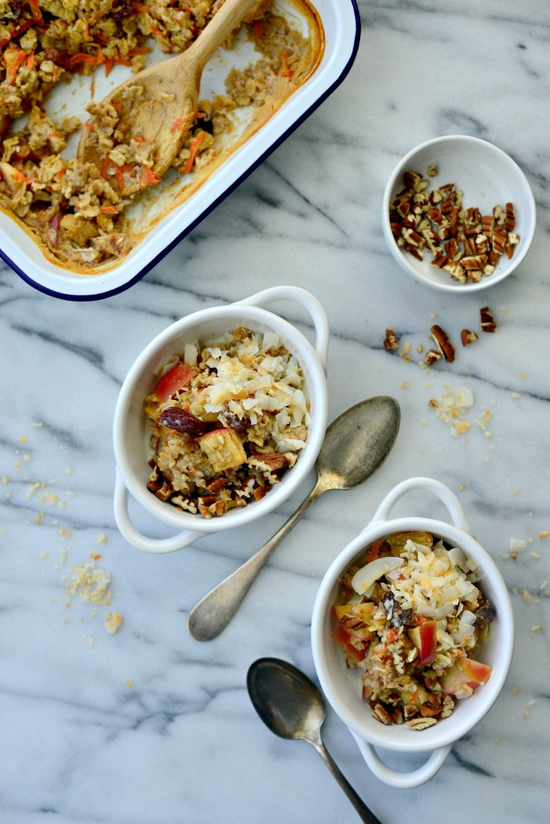 Apple, Carrot + Raisin Baked Oatmeal l SimplyScratch.com (21)