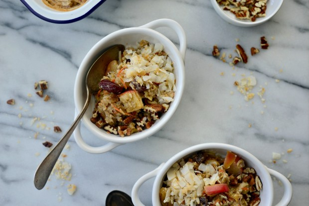 Apple, Carrot + Raisin Baked Oatmeal l SimplyScratch.com (22)